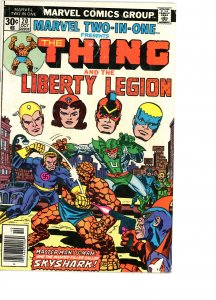 Marvel Two-In-One 20 G/VG  Liberty Legion