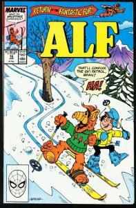 ALF #16-MARVEL COMICS-NBC-TV-MELMAC-1989 NM