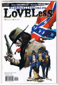 LOVELESS #1 2 3 4 5 6 7 8 9 10, NM+, Brian Azzrello, Civil War, Outlaws, Guns