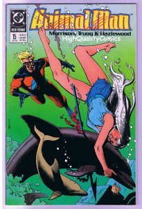 ANIMAL MAN #15, NM, Grant Morrison, Powers, Bolland, 1988, more in store