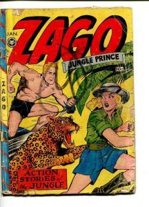 ZAGO  #3-1949-FOX-JACK KAMEN-GOOD GIRL ART-FOX-fr