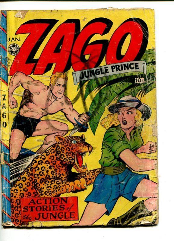 ZAGO  #3-1949-FOX-JACK KAMEN-GOOD GIRL ART-FOX-fr