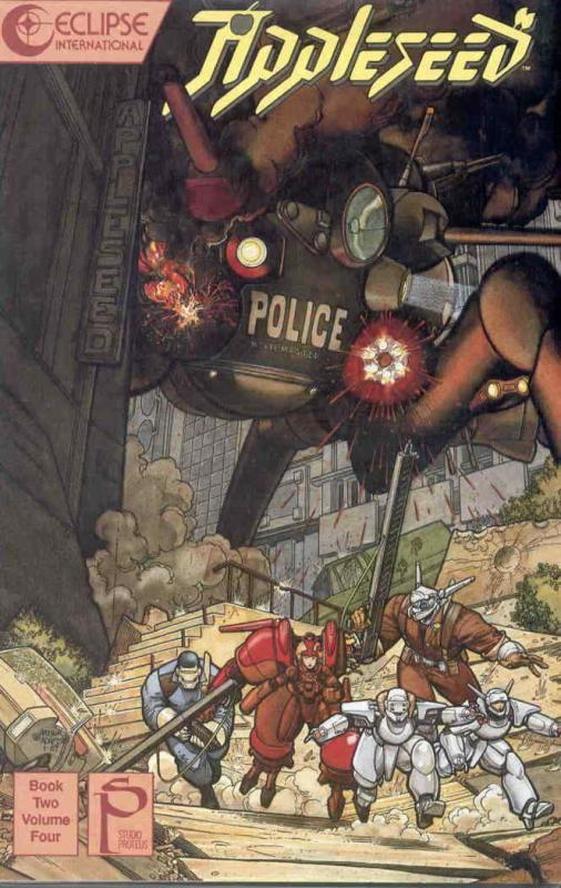 Appleseed Book 2 #4 FN; Eclipse   save on shipping - details inside