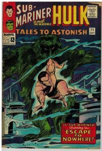 TALES TO ASTONISH 71 VG Sept. 1965 COMICS BOOK