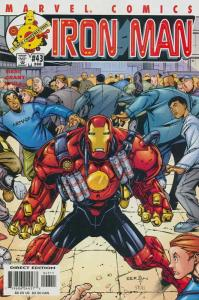 Iron Man (3rd Series) #43 VF/NM; Marvel | save on shipping - details inside