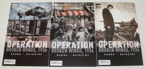 Operation: Broken Wings 1936 #1-3 VF/NM complete series TREVOR HAIRSINE wwii 2