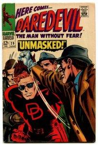 DAREDEVIL #29 (7.0) 1967 Stan Lee & Gene Colan Silver Age Marvel ID97H