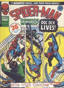 SPIDER-MAN WEEKLY  (#229-230) (UK MAG) (1973 Series) #116 Very Good