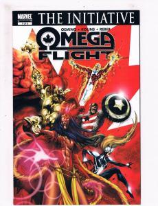 Omega Flight The Initiative # 1 NM Marvel Comic Books Spider Woman Avengers! SW6