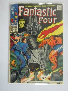 Fantastic Four #80 2.0 GD re-stapled water stain (1968 1st Series)