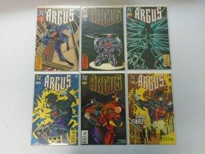 Argus set:#1-6 8.5 VF+ (1995)