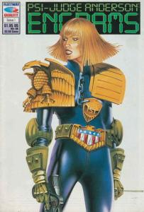 Psi-Judge Anderson: Engrams #1 VF; Fleetway Quality   save on shipping - details