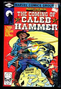 Marvel Premiere Featuring The Coming of Caleb Hammer #54 VF/NM (SIC518)