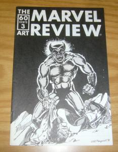 Marvel Art Review, The #3 VF; Marvelous Art Comics | save on shipping - details