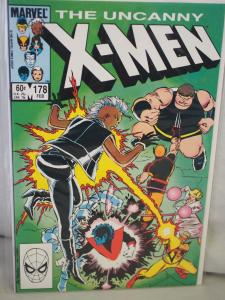 The Uncanny X-Men 178  VF/NM  condition.  Unread. 1984 .Hell Hath no Fury...