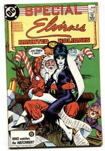 ELVIRA'S HOUSE OF MYSTERY SPECIAL #1 1987 Santa Claus x-mas cover