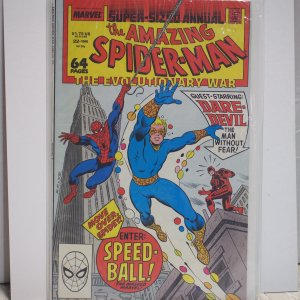 The Amazing Spider-Man Annual #22 (1988) Near Mint Unread First Speed-Ball!