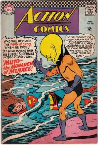 Action Comics #338 (Jun-66) FN Mid-Grade Superman, Supergirl