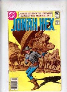 Jonah Hex # 31 Strict VG+ Artist E.R. Cruz Origin Jonah Hex