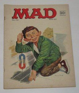 Mad Magazine #110 Norman Mingo Cover April 1967 EC Publications VG/FN