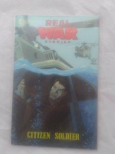 Vtg Eclipse Comics 1991 Real War Stories #2 Citizen Soldier NM