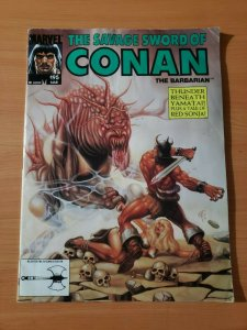 The Savage Sword of Conan #195 ~ FINE - VERY FINE VF ~ 1992 Marvel Comics