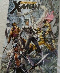 ASTONISHING X-MEN Promo Poster, 24 x 36, 2012, MARVEL, Unused 254
