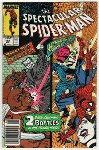 Spectacular Spider-Man #153 (Marvel, 1989) VF