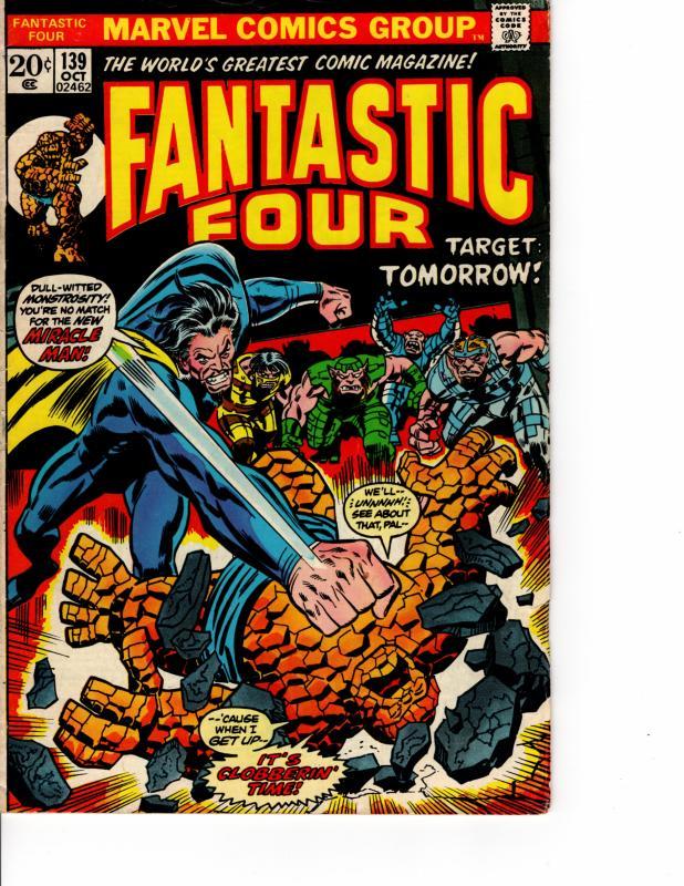 MARVEL Fantastic Four (1961 Series) #139 OCT 1973 VF-
