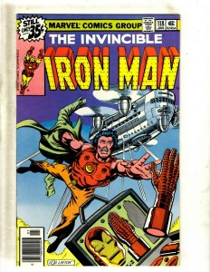 Iron Man # 118 NM Marvel Comic Book Avengers Hulk Thor Captain America J462