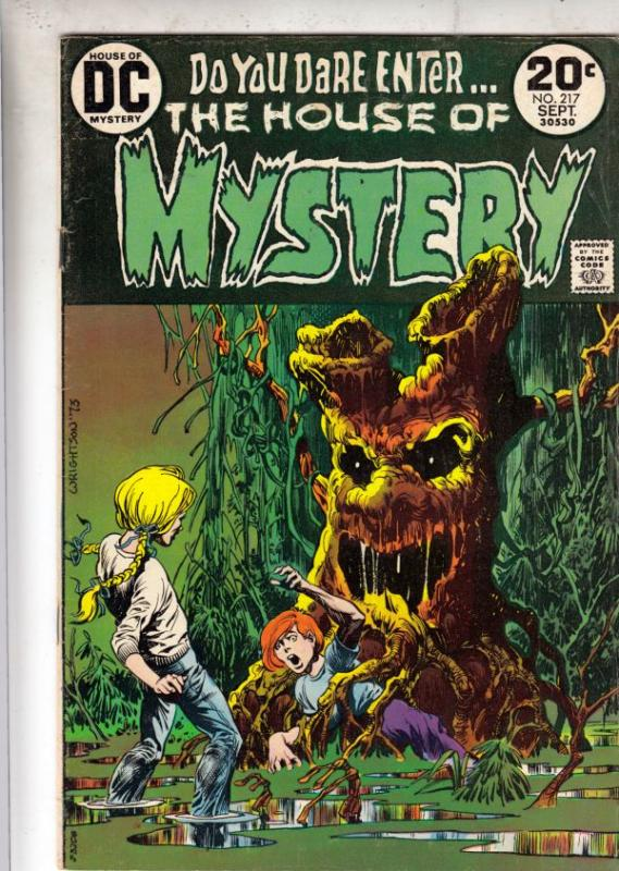 House of Mystery #217 (Sep-73) VG/FN Mid-Grade