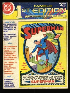 Famous First Edition #C-61 Superman #1 Reprint Treasury Size!