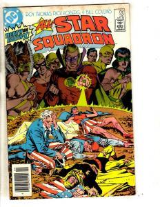 Lot Of 6 All Star Squadron DC Comic Books # 32 33 34 35 36 + Annual # 2 JG7