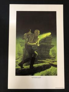 Doc Savage Sargasso Ogre Limited Art Print- JAMES BAMA- 15.5x24