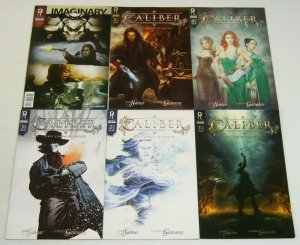 Caliber: First Canon of Justice #1-5 VF/NM complete series + fcbd - artgerm set