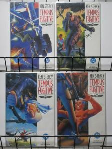 TEMPUS FUGITIVE (1990) 1-4 KEN STEACY  Complete Story!