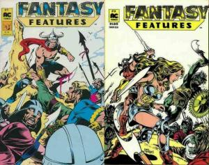 FANTASY FEATURES (1987 AC) 1-2 Sword, Sorcery, Babes!
