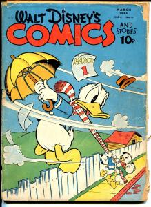 Walt Disney's Comics and Stories #42 1944-Dell-Carl Barks-Donald Duck-P