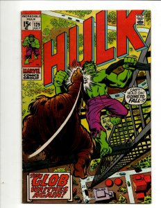 Incredible Hulk # 129 FN/VF Marvel Comic Book Iron Man Captain America Thor BJ1