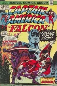 Marvel CAPTAIN AMERICA (1968 Series) #177 VF