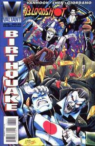 Bloodshot (1993 series) #32, NM + (Stock photo)