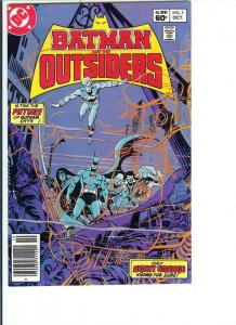 Batman and the Outsiders, Number 3, October, 1983 (VF/NM)