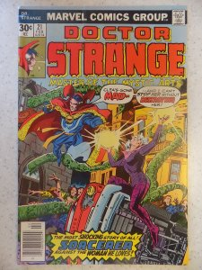 DOCTOR STRANGE # 21 LIGHT SUB CREASE LOOKS LIKE