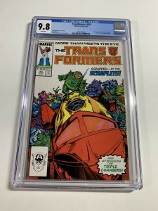 Transformers 29 Cgc 9.8 White Pages Marvel 1987