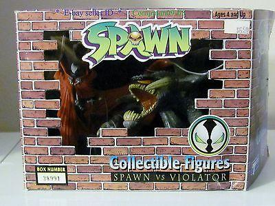 SPAWN & VIOLATOR(1994) BOXED COLLECTIBLE FIGURES