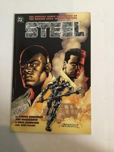Steel Motion Picture Comic 1 NM Near Mint