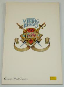 The Last of the Viking Heroes TPB signed by Michael Thibodeaux; limited to 3500