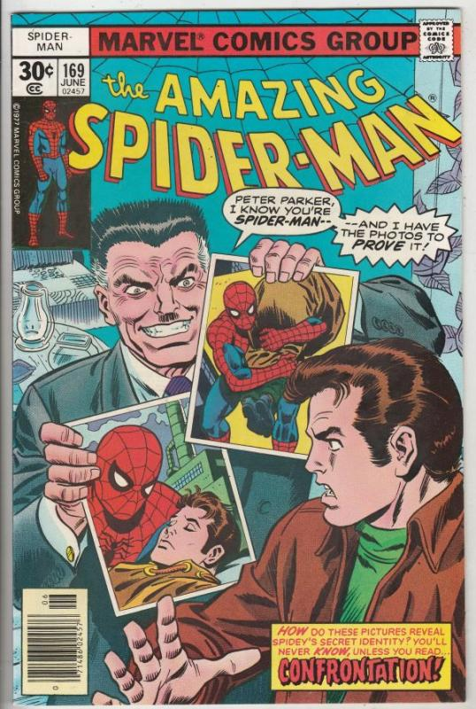 Amazing Spider-Man #169 (Jun-77) NM+ Super-High-Grade Spider-Man