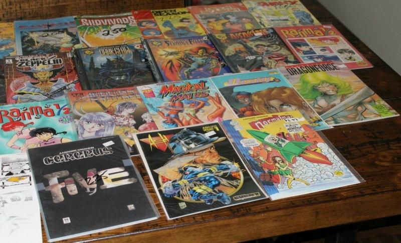 Medium Priority Mail Box Full of INDY / Independent Comics Bulk Mixed Differ Lot