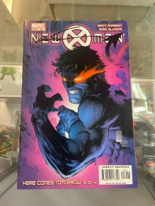 New X_men 152 NM Signed by Marc Silvestri